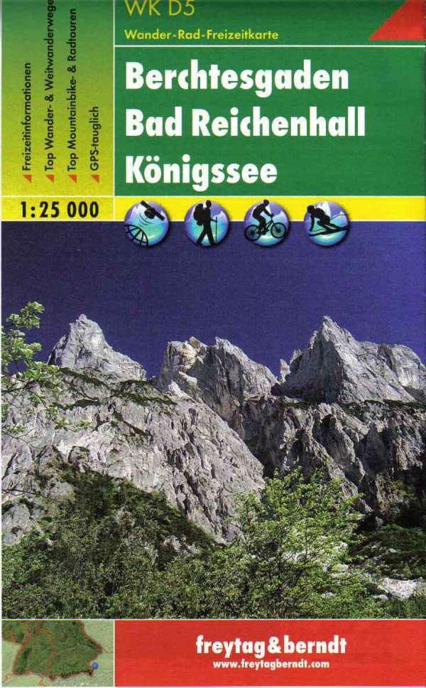 Mapa Berchtesgaden Watzmann 1 25 T Mapykiwi Cz Nejvetsi