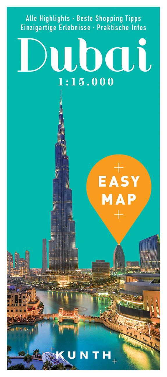 Azia Dubai Easy Map 1 15t Spojene Arabske Emiraty Mapa Mesta