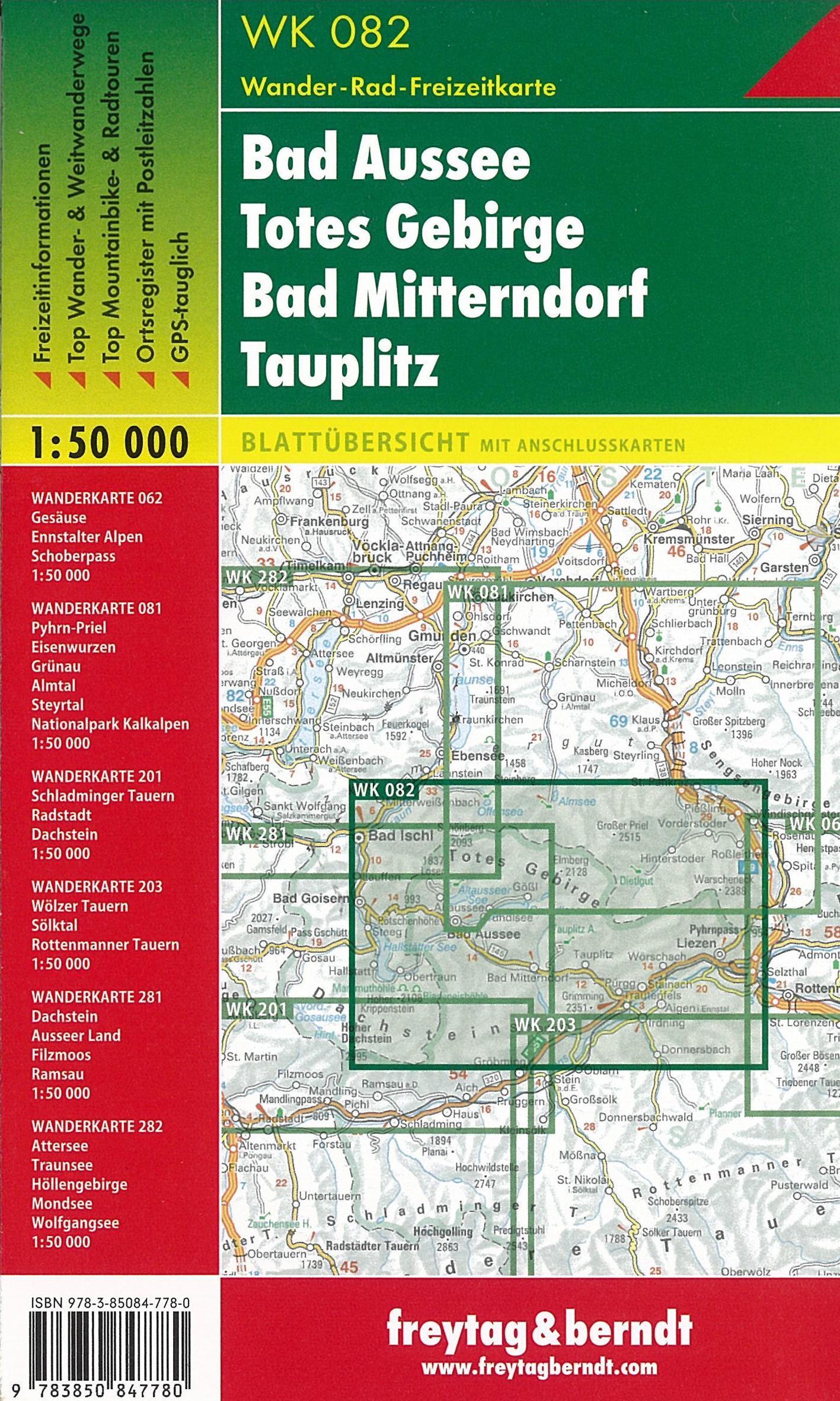 Turistika Wk082 Bad Aussee Totes Gebirge Bad Mitterndorf
