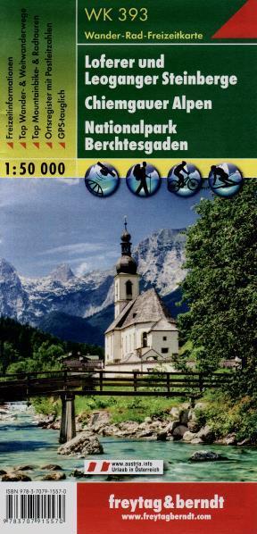 Turistika Wk393 Loferer U Leoganger Steinberge Chiemgauer Alpen