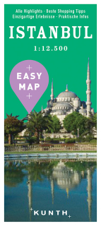 Istanbul Easy Map 1:12,5t (Turecko) mapa mesta Kunth / 2016